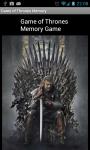 Game of Thrones - Memory screenshot 1/2