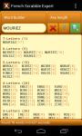 Scrabble Expert French screenshot 1/6
