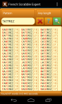 Scrabble Expert French screenshot 2/6