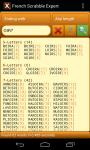 Scrabble Expert French screenshot 3/6