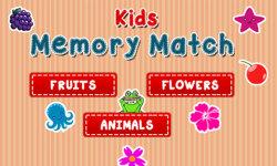 Kids Memory Match - Flip Card screenshot 1/5