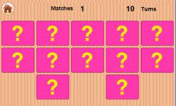 Kids Memory Match - Flip Card screenshot 3/5