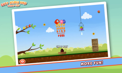 Cute Angry Bird : Easter Eggs screenshot 1/5