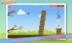 Cute Angry Bird : Easter Eggs screenshot 4/5