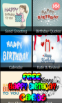 Free Happy Birthday Cards screenshot 1/6