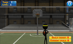 Basketball with Stickman screenshot 3/3
