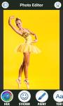 Ballerina Dress Photo Montage screenshot 3/6