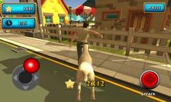 Crazy Goat Rampage Sim 3D screenshot 5/6