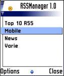RSSManager screenshot 1/1