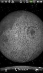 Moon 3D Live Wallpaper screenshot 1/2
