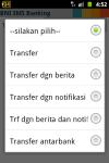 BNI SMS Banking screenshot 3/6