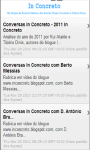 In Concreto - Plataforma Android screenshot 3/3