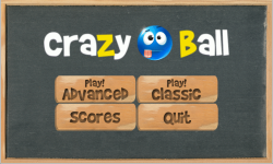 CrazyBall Game screenshot 1/2