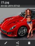 Sports Car Wallpapers 240x320 TouchPhones screenshot 3/3