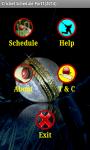 CricketSchedule Part1 2014 screenshot 2/4