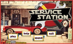 Free Hidden Object Games - Service Station screenshot 1/4