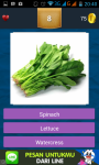 Vegetables Quizes screenshot 5/6