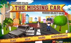Free Hidden Object Games - The Missing Car screenshot 1/4