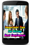 Important Tips for Hiring the Best Employees  screenshot 1/3