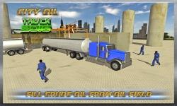 Transport Truck : Oil Tanker screenshot 1/3