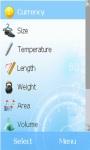 Unit Converter Lite Edition screenshot 1/3