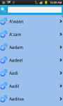 Baby Names World Wide screenshot 2/6