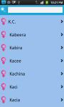 Baby Names World Wide screenshot 5/6