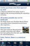Boston.com News screenshot 1/1