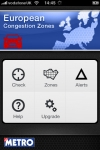 Metro C-Zones - Pay congestion charge throughout Europe screenshot 1/1