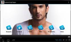 Sushant Singh Rajput Fan App screenshot 1/3