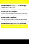 Real Madrid Champion 2014 Wallpaper screenshot 2/6