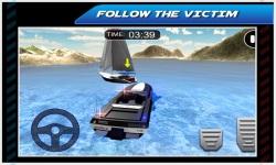Emergency Police Boat Drive 3d screenshot 2/5