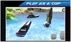 Emergency Police Boat Drive 3d screenshot 3/5