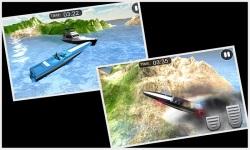 Emergency Police Boat Drive 3d screenshot 4/5