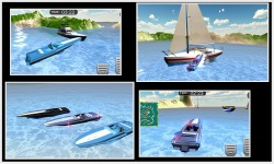 Emergency Police Boat Drive 3d screenshot 5/5