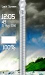 Storm Zipper Lock Screen screenshot 4/6