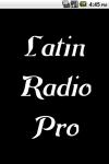 Latin Radio  Pro screenshot 1/3