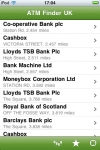 ATM Finder UK screenshot 1/1