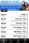 Apex Car Rentals NZ  New Zealand Car Hire screenshot 1/1
