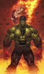 Incredible Hulk Live Wallpaper screenshot 1/4