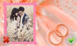 Wedding Frames Of Love screenshot 2/6