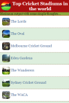 Top Cricket Stadiums in the world screenshot 2/3