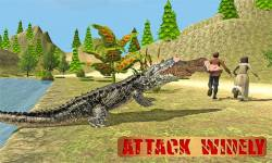 Ultimate Wild Crocodile Sim screenshot 1/5