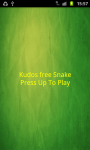 Kudos Snake FREE screenshot 1/3