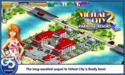 Virtual City: Paradise Resort screenshot 1/5