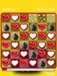 Falling Hearts Free screenshot 3/6