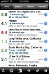 QuakeWatch - Latest Earthquakes Info screenshot 1/1