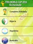 FIFA Football WorldCup Schedule screenshot 2/5