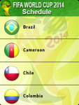 FIFA Football WorldCup Schedule screenshot 4/5