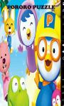 Pororo Pinguin Easy Puzzle screenshot 1/6